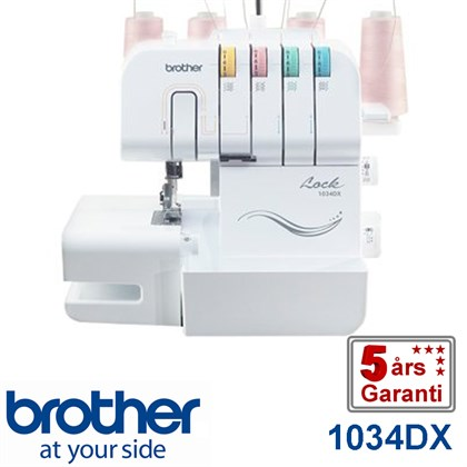 Brother 1034DX 4 tråds overlock