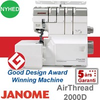 Janome Air Thread 2000D overlock