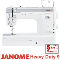 Janome Heavy Duty HD9 stikkestings symaskine