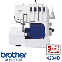 Brother 4234D overlock 4-tråds
