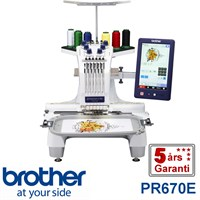 Brother PR670E professionel 6 nåls  broderimaskine