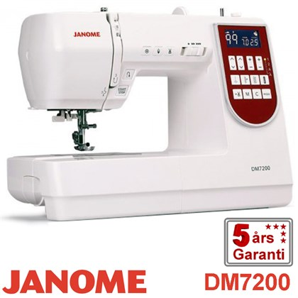 Janome Decor Monogram 7200 symaskine