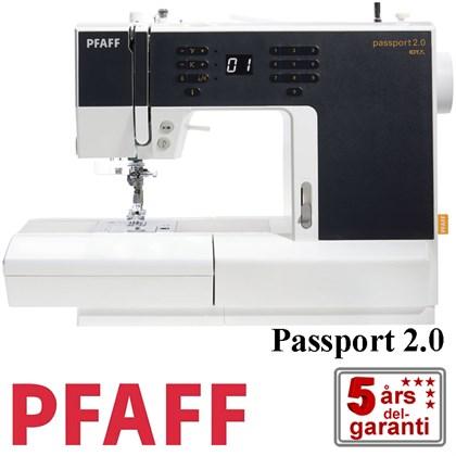 letv gt pfaff symaskine passport 2 0 med n letr der. Black Bedroom Furniture Sets. Home Design Ideas